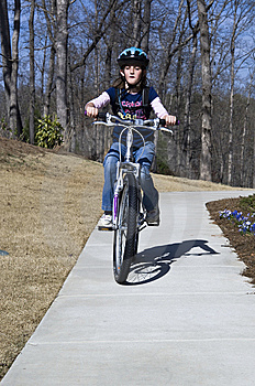 Young Bicycle Rider Royalty Free Stock Photography - Image: 13737687