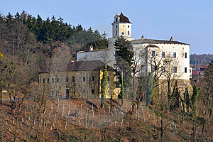 Castle Malenovice, Czech Republic Royalty Free Stock Images - Image: 13737769