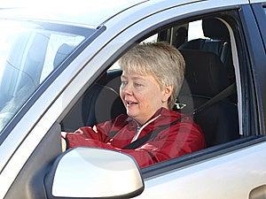 Woman Driving Stock Photo - Image: 13738700