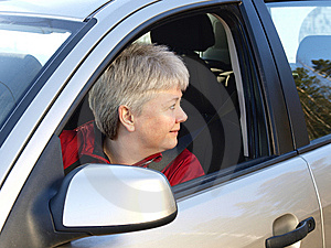 Woman Driving Stock Image - Image: 13738701