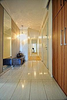 Hallway Stock Image - Image: 13738861