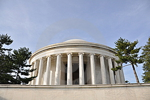Thomas Jefferson Memorial Royalty Free Stock Photos - Image: 13740308