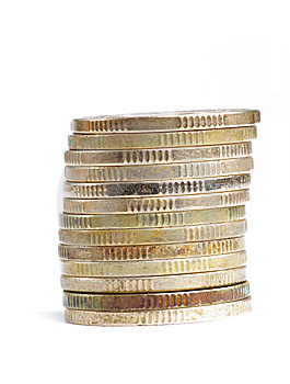 Pile Of RMB Coins Stock Photo - Image: 13740960