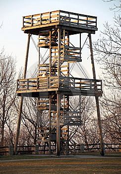 Fire Watch Tower Royalty Free Stock Photos - Image: 13741058