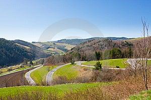 Zigzag Road Stock Image - Image: 13742271