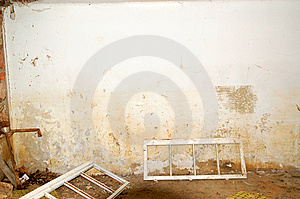 Ruined Room Royalty Free Stock Photo - Image: 13743945