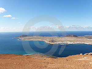 Isla La Graciosa I Stock Photo - Image: 13744320