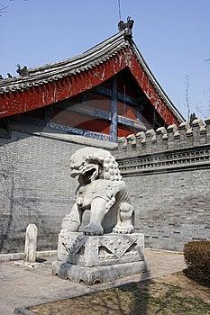 Stone Lion Stock Image - Image: 13744881