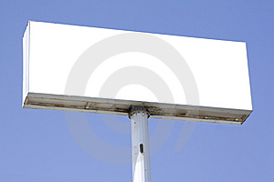 Advertisement Banner Stock Images - Image: 13745734