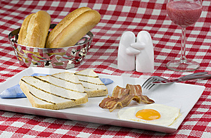 Hearty Breakfast Royalty Free Stock Images - Image: 13746059