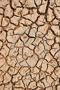 Broken Soil In Dry Season Royalty Free Stock Photography - Image: 13746287