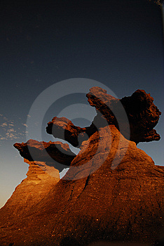 Twin Rock Royalty Free Stock Photography - Image: 13748237