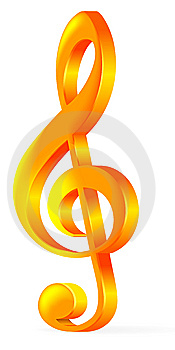 Treble Clef Stock Images - Image: 13748984