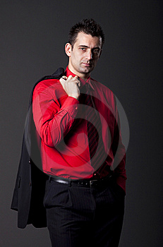 Young Handsome Man Royalty Free Stock Images - Image: 13750449