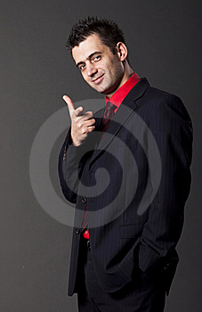 Young Handsome Man Royalty Free Stock Photography - Image: 13750457