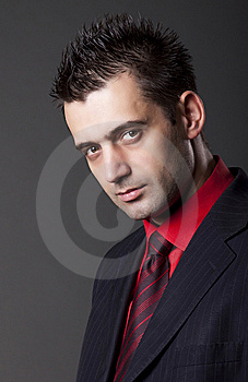 Young Handsome Man Royalty Free Stock Photos - Image: 13750478
