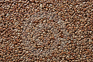Small Brown Stones Texture Royalty Free Stock Images - Image: 13750649