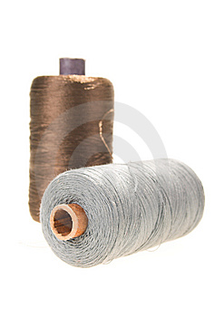 Spools Of Thread Royalty Free Stock Images - Image: 13751959
