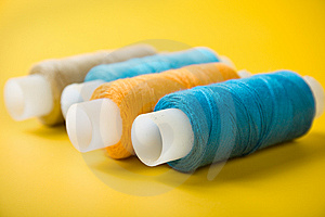 Spools Of Thread Stock Photography - Image: 13751972