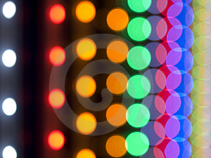 Blurred Chain Lights Stock Photo - Image: 13752120