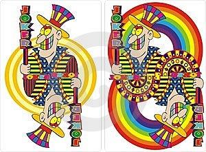 Playing Card Joker  Royalty Free Stock Photo - Image: 13752715