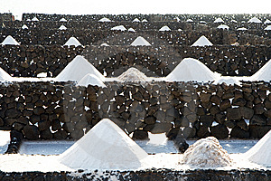 Salt Will Be Produced In The Old Historic Saline I Royalty Free Stock Photos - Image: 13752798