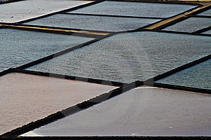 Traditional Salt Basins In The Salina Of Janubio Stock Image - Image: 13752831