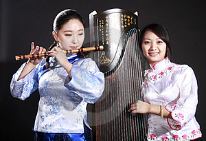 Two Musicians Royalty Free Stock Photos - Image: 13752968