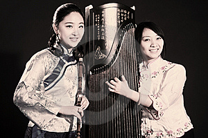 Chinese Folk Musicians Stock Images - Image: 13753034