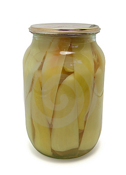 Jar Of Bell Peppers Royalty Free Stock Photo - Image: 13753195