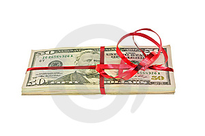 Pack Of Dollars Stock Images - Image: 13754114