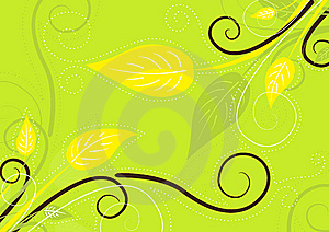 Green Spring Background Stock Image - Image: 13754511