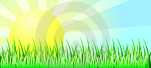 Sunny Daytime Background Royalty Free Stock Photo - Image: 13754545