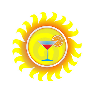 A Symbol Of Sun Royalty Free Stock Image - Image: 13754556
