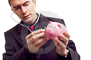 Checking Profit Royalty Free Stock Images - Image: 13754559