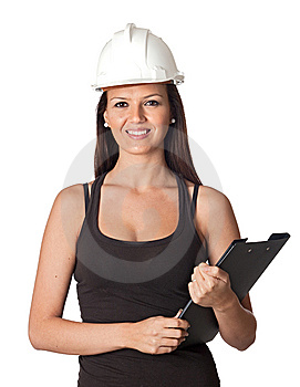 Attractive Young Engineer Stock Photo - Image: 13754640