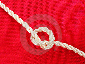 Rope Tied In Knot Stock Photography - Image: 13754962