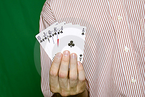 Royal Flush Royalty Free Stock Images - Image: 13754969