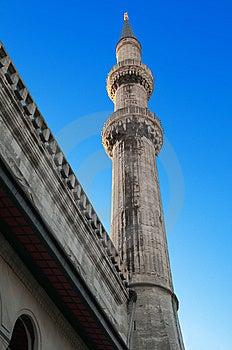 Blaue Moschee. Istanbul. Die Türkei. Stockfotos - Bild: 13755313