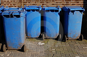 Garbage Containers Stock Photo - Image: 13756390