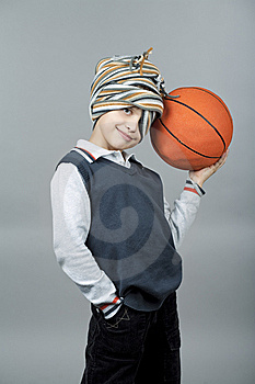Closer To Basketball Royalty Free Stock Photography - Image: 13757727