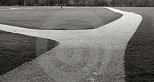 Hyde Park Path Royalty Free Stock Images - Image: 13758479