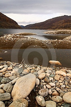 Autumn Lake, Romania Stock Photos - Image: 13759073