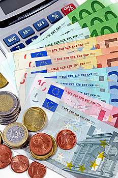 Euro Currency Stock Photos - Image: 13761763
