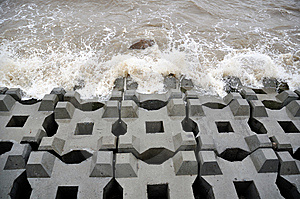 Breakwater Stock Images - Image: 13763264