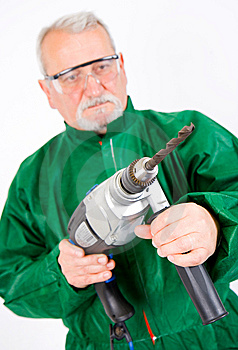 Drilling Stock Photo - Image: 13763340