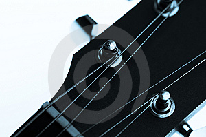 Guitar Machine Heads And Strings Stock Photography - Image: 13764172