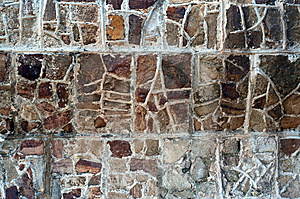 Aboriginal Stone Wall Royalty Free Stock Photography - Image: 13765197