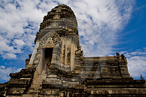 Temple Or Pagoda In Thailand. Stock Photo - Image: 13766740