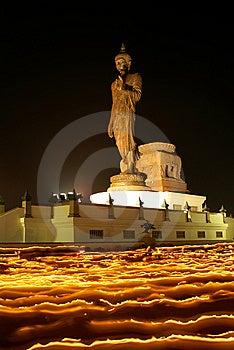 The Buddha On Fire I Stock Image - Image: 13767301